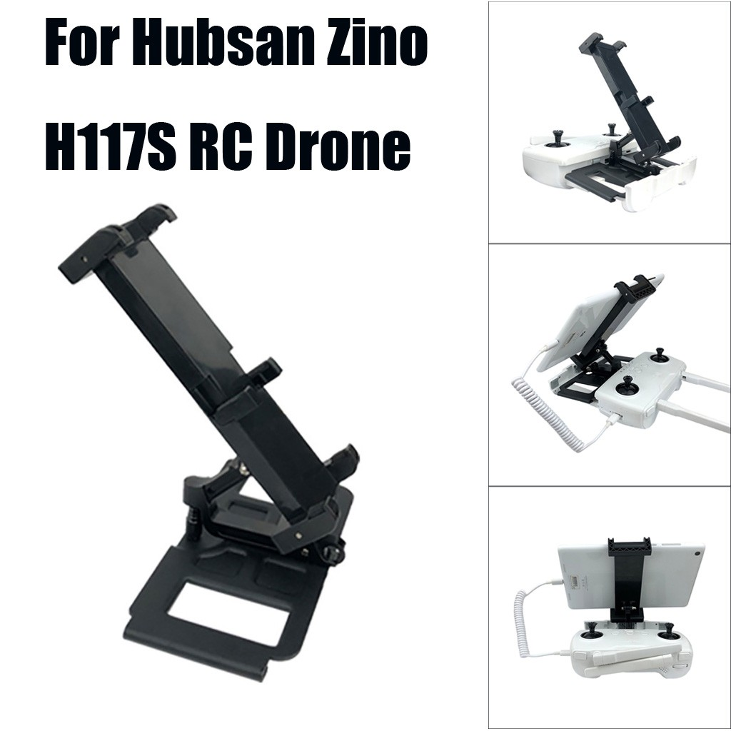 Tablet Phone Holder Remote Control Bracket For Hubsan Zino H117S RC Drone Accessories brinquedos juguetes zabawki игрушки New image