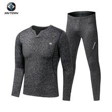 Fleece Long Johns Sports Thermal Underwear Sets 2019 New Aut