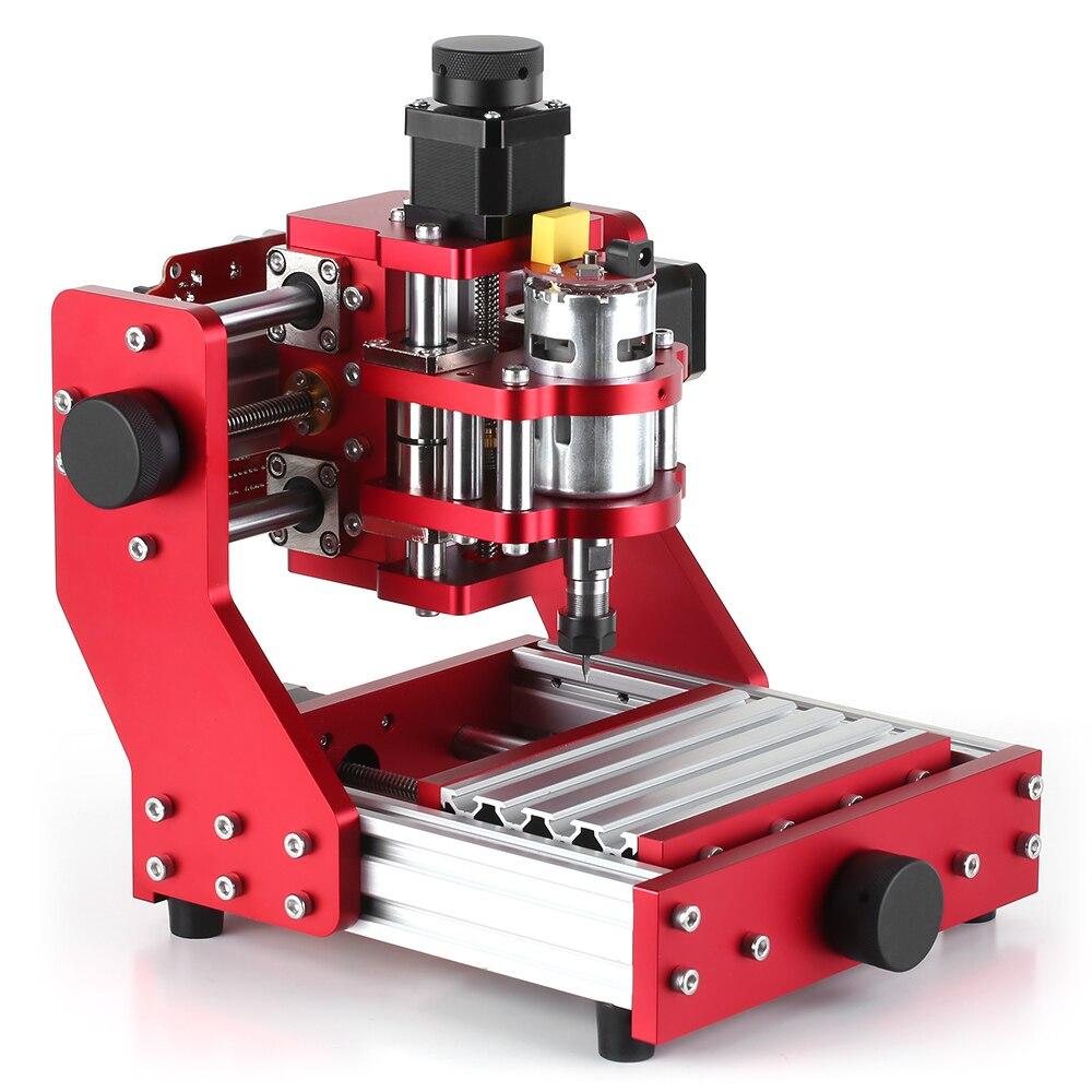 Mini CNC routeur CNC métal gravure fraiseuse Kit PCB bois fraisage Laser graveur Machine avec ER11 pince menuiserie