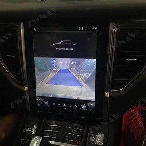 Image 3 - Android 9 For Porsche Macan 2011 2012 2013 2014   2017 Vertical IPS Screen Tesla Style Multimedia GPS Navigation Audio Autoradio