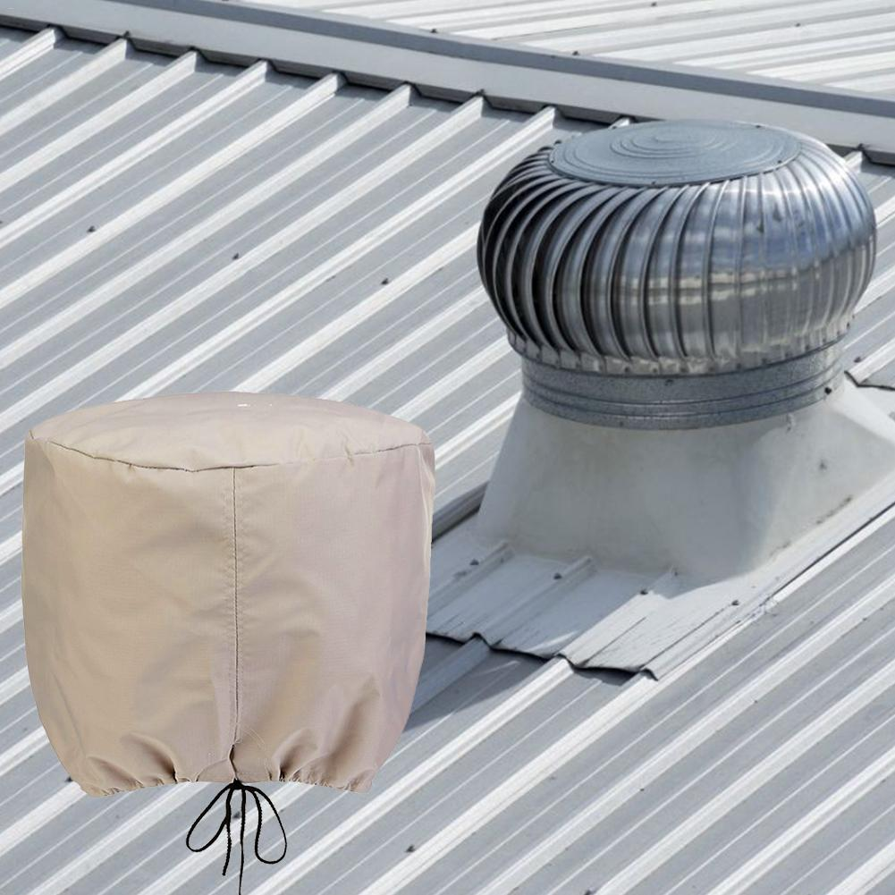 New Durable Roof Ventilator Cover Lightweight Vent Cover Universal Turbine Vent Cover For Home Oragnizer Factory Ventilation