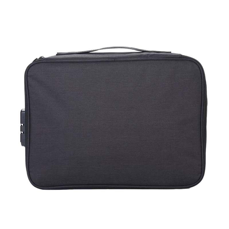 JHD-Large-Capacity Document Family Travel Storage Bag Multifunctional Multilayer Family File Storage Bag Important Items Folder