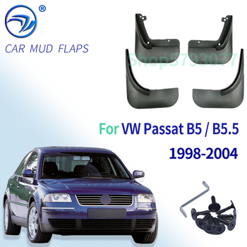 Комплект брызговиков для VW Passat B5 / B5.5 1998 2004, брызговики, брызговики для передних и задних брызговиков, 2003, 2002, 2001, 2000, 99|Грязезащита|   | АлиЭкспресс