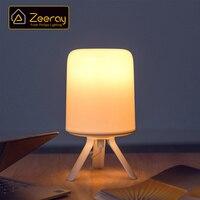 Lampada da comodino Zeeray serie Misty 220V E27 Wifi lampadina intelligente dimmerabile lampada da tavolo a luce notturna a LED Mijia Mi Home APP Control