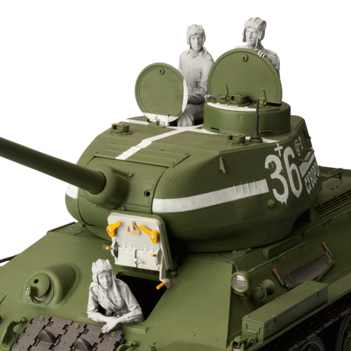 1/16 Ancient Tank Crew Include 3 (NO Tank 3 Figures )   Resin Figure Model Kits Miniature Gk Unassembly Unpainted
