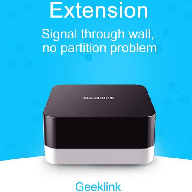 Geeklink GR 1 Extension Intelligent Controller Smart Home Automation Wireless Switch WiFi+RF+IR Remote Control Via IOS Android