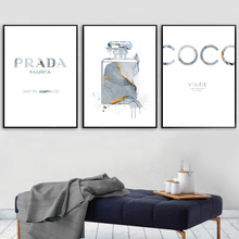 Perfume Poster Print Nordic Posters And Prints Quotes Wall Art Print Canvas Painting Wall Pictures For Living Room Decoration
