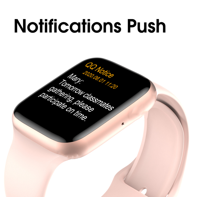2020 IWO W26 Smart Watch Series 6 1.75 inch Full Touch Screen ECG PPG Heart Rate Monitor Bluetooth Call K8 PRO Smartwatch IWO 15 2