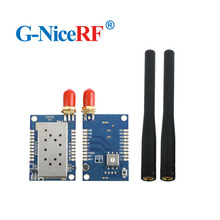 2pcs/lot NiceRF All in One SA828 U band 400 480MHz Walkie Talkie Module
