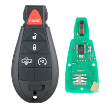 433MHz 5 Buttons Remote Car Key Fob  Car Auto Replacement with Chip GQ4-53T for Dodge Ram 2013 2014 2015 2016 2017 цена