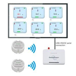 Image 1 - Sensore di Temperatura Senza Fili Trasmettitore di Temperatura Data Logger Senza Fili a Distanza di Controllo Della Temperatura per Il Congelatore 433/868/915Mhz