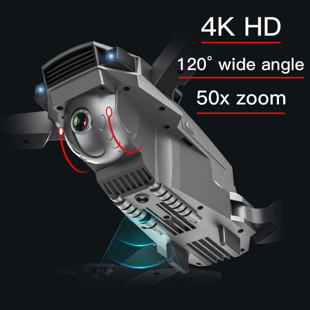 Drone 4k SG907 drone gps con 4K Cámara dual de HD ancho ángulo de 5G WIFI FPV RC Quadcopter plegable Drones profesional de GPS sigue en mí