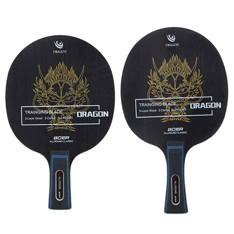 Butterfly 8-Star Long Handle Table Tennis Ping Pong Bat 5 Wood+2 Aromatic Carbon