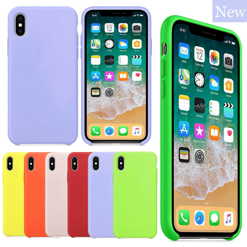 Official Original Hard <font><b>Silicone</b></font> <font><b>Case</b></font> for <font><b>iPhone</b></font> 11 Pro Max XS Max Back Shockproof With <font><b>Logo</b></font> Cover for <font><b>iPhone</b></font> X XR 6 7 8 Plus image