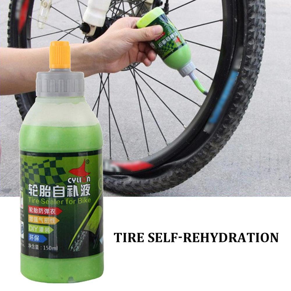 150ML Tire Fluid Tire Self-rehydration Mountain Bike Tire Sealant Machine Protection Bicycle Tire Repair Fluid