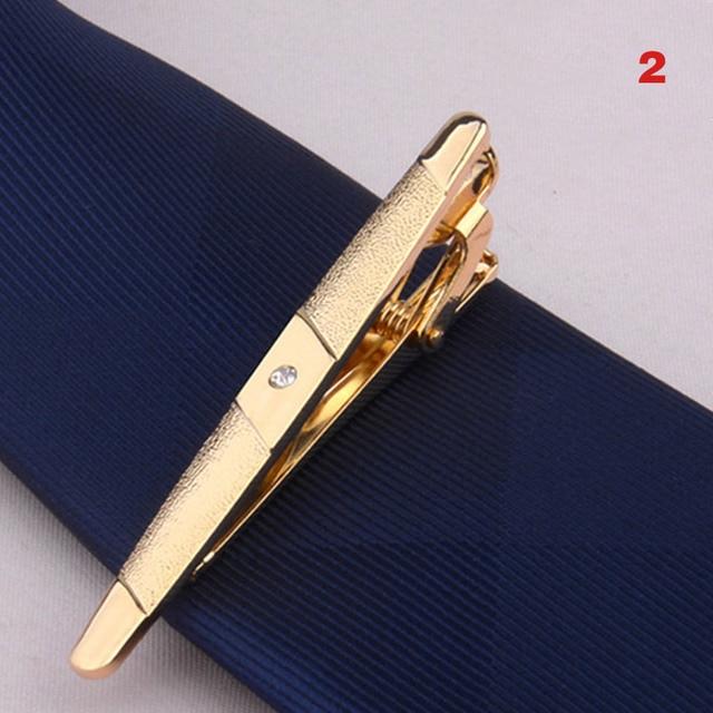 Зажим для галстука из металлического сплава, зажим для галстука, для свадьбы, деловой стиль 4