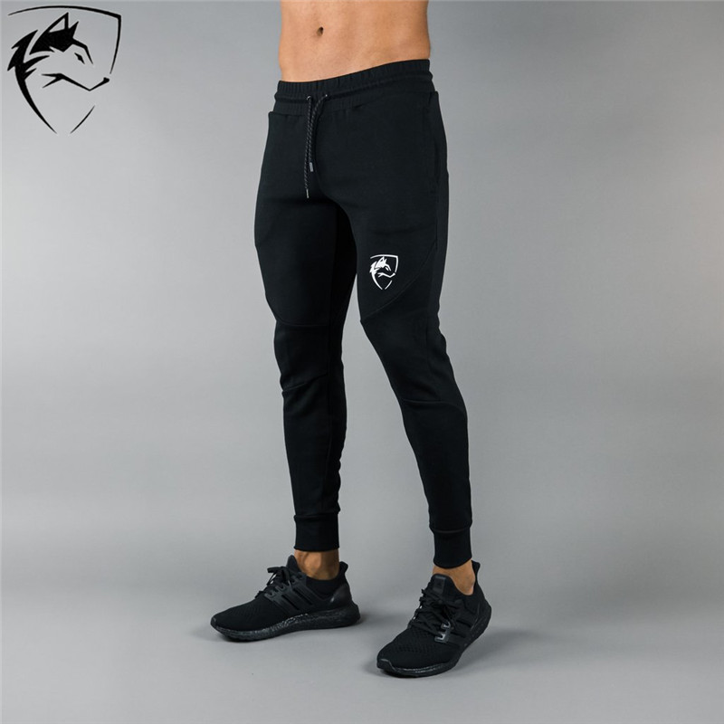 AlPHALETE Brand Joggers Sweatpants Mens Slim Casual Pants Gyms Workout Cotton Sportswear Autumn Male Fitness Crossfit Trackpants