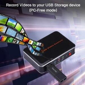 Image 4 - كاميرا KuWFi HD لعبة التقاط الفيديو 1080P HDMI YPBPR مسجل لأجهزة XBOX One/360 PS3 /PS4 بنقرة واحدة لا يستفسر أي جهاز إعداد