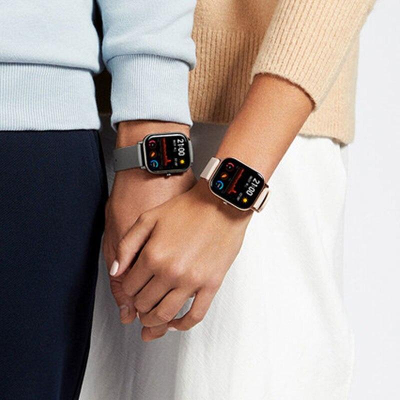 Image 3 - Huami Global Version Amazfit GTS Smart Watch GPS 5ATM Waterproof Smartwatch Health Heart Rate AMOLED 12 SportsSmart Watches   -