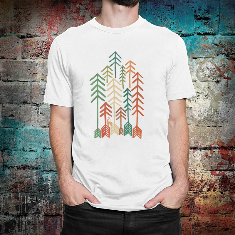 <font><b>Wilderness</b></font> Hip Hop Tshirt Male Print Unisex <font><b>T</b></font> <font><b>Shirt</b></font> Short Sleeve Men's <font><b>T</b></font>-<font><b>Shirts</b></font> Streetwear image