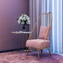 Новое металлическое стальное кресло для отдыха железная проволока стул полый для обеда и кофе металлические барные стулья мебель для гостиной 6 цветов