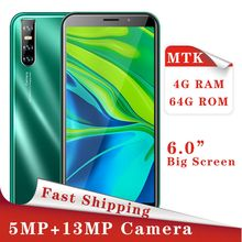 C9 Pro Smartphones Quad Core 4GB RAM 64GB ROM 13MP 6 0inch Full Screen Face unlocked Mobile Phone Celulares Android Cellphones cheap BYLYND Detachable Face Recognition Up To 48 Hours 3000 Adaptive Fast Charge Smart Phones Capacitive Screen English Russian