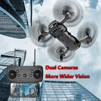 X12 X12S WiFi FPV RC Drone with 0.3MP/1080P/4K HD Dual Camera Optical Flow RC Quadcopter for Toys Kid Dron vs SG106 M69G XS816 1