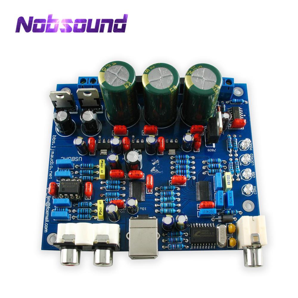 Nobsound CS8416+CS4398 Coaxial USB DAC Board SPDIF Decoding Module 32K -192K/24BIT DIY Kit/Finished Board