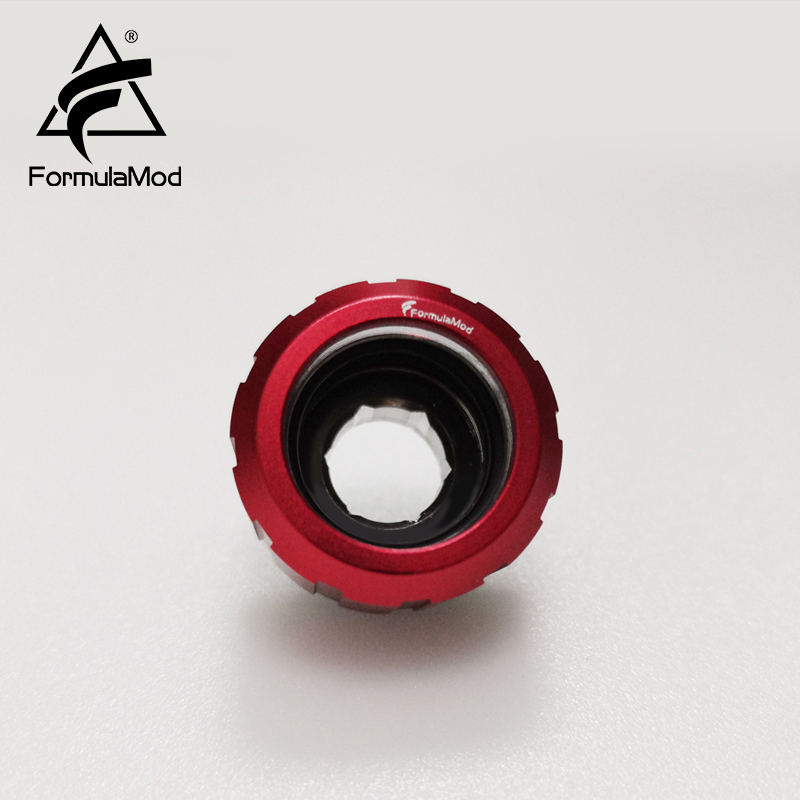 FormulaMod Fm-GHTF-14, OD14mm Hard Tube Fitting, Mechanical Gear Appearance G1/4 Adapters For OD14mm Hard Tubes FormulaMod Fm-GHTF-14, OD14mm Hard Tube Fitting, Mechanical Gear Appearance G1/4 Adapters For OD14mm Hard Tubes FormulaMod OD14mm Hard Tube Fitting,FormulaMod G1/4 Adapters,Black FormulaMod Hard Tube Fitting