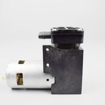 DC 12V/24V Miniature electric air pump high pressure piston vacuum pump DH712-4003-5000 400KPA.max 25LPM high vacuum -75KPA