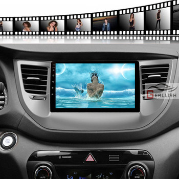 4G+64G Android For hyundai Tucson 3 iX35 2015 2016 2017 Car Radio Multimedia Video Player Navigation GPS not 2 din dvd image