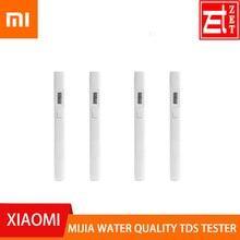100% orijinal Xiaomi Mijia su kalitesi TDS Tester profesyonel taşınabilir Test akıllı metre PH EC TDS-3 Tester metre dijital aracı