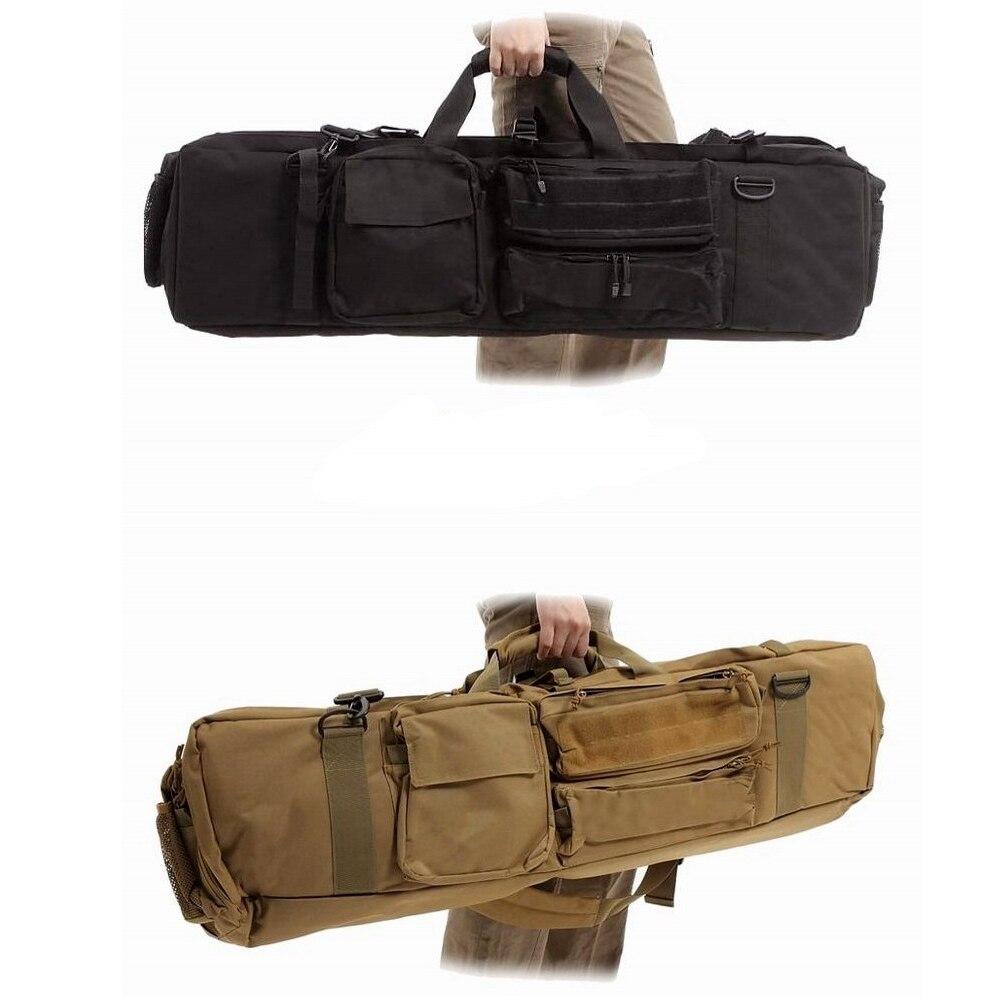 Militaire tactique M249 pistolet sac résistant chasse tir Airsoft pistolets sacs Combat Paintball armée transportant des sacs de fusil d'épaule