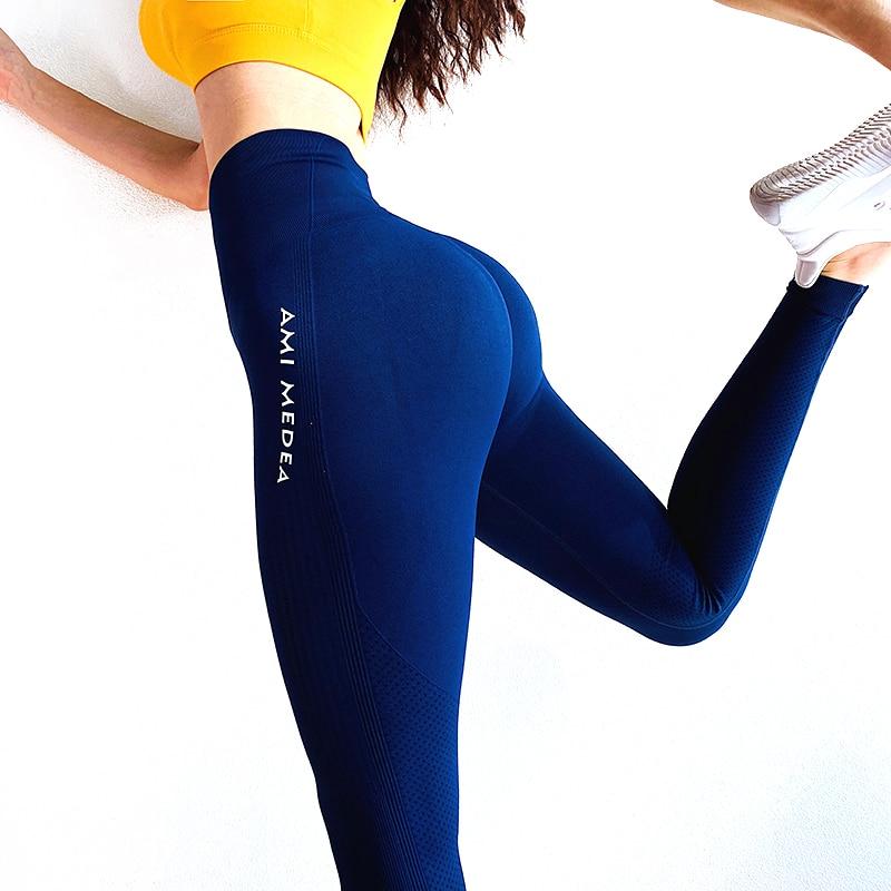 Sexy Women Leggings Women's trousers Butt Push Up Fitness Legging Slim High Waist Leggins Mujer Seamless Fitness Legging|Leggings| - AliExpress