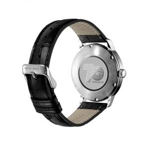 Image 2 - Nova edição limitada mar goll 70th aniversário da fundação da china seagull relógio automático mecânico 819.12.1949 w/jornal