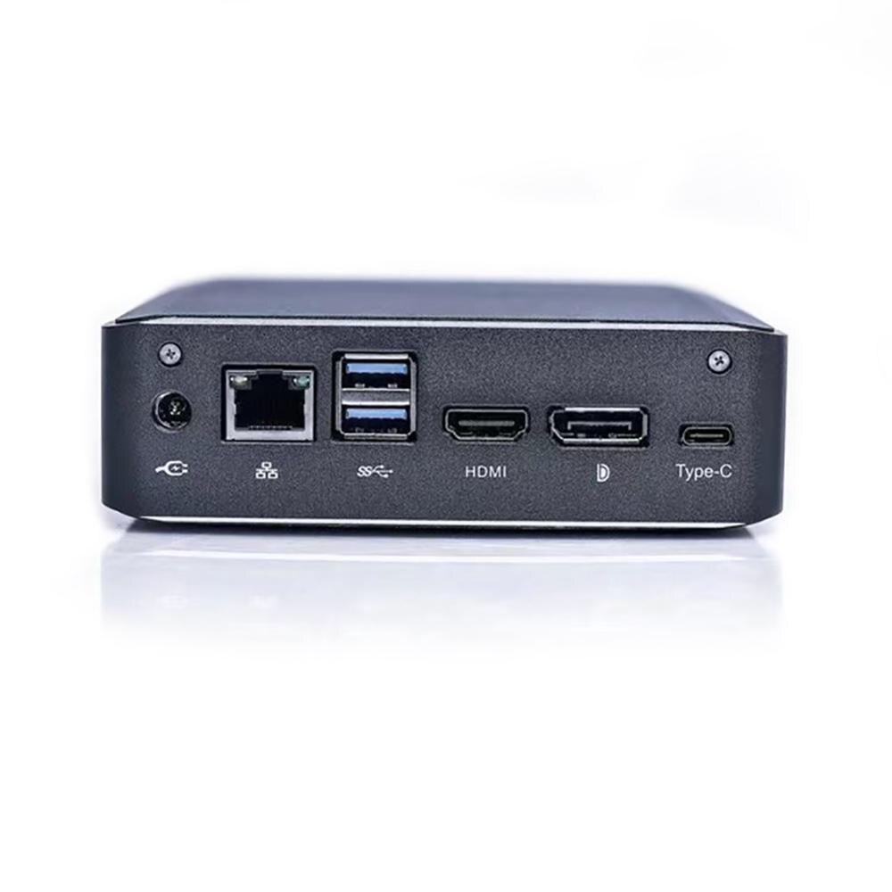Sorpresa de bolsillo Mini PC Intel Quad Core 8M Cache i7 8565U hasta 4,6 GHz Mini computadora HTPC Win10 HDMI DP i5 8265U i3 8145U