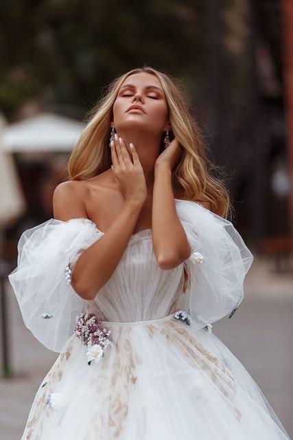 Robe de Mariage Bohème Romantique Lola