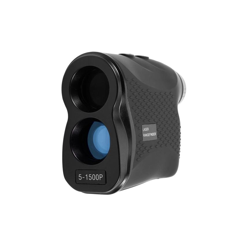 New Hot 1500M Digital Rangefinder Handheld Monocular Rangefinder For Golf Hunting Range Finder Speed
