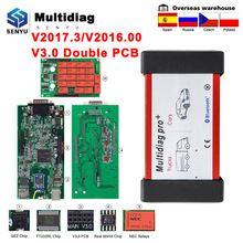 Bluetooth Scanner Car Diagnostic OBD Multidiag Pro Code-Reader Auto-Tool for Old-Case