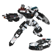 XINGBAO 20002 779PCS NEW Age Of Armor Series 2 Styles Police Mechanical Warrior And Force Car Sets Building Blocks MOC Bricks