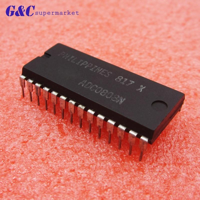 1 pcs ADC0808 ADC0808CCN 8-Bit A//D Converter IC DIP-28 hym Hot Sale 2019