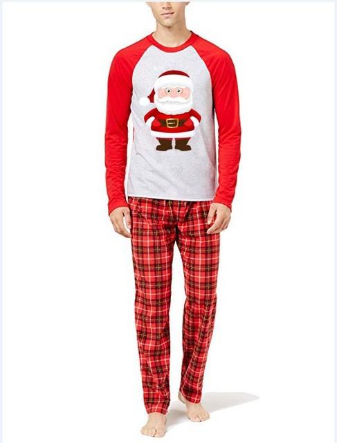 Julepyjamasæt til familie