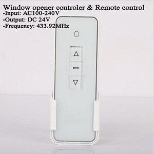 Image 3 - DC24V 220V Tuya переключатель оконной занавески Wifi 433Mhz RF пульт дистанционного управления Переключатель привода окна