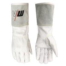 TIG Leather Welding Gloves Work Gloves Top Grain GoatskinWorking  Safety Protective Garden Sports MOTO Wear-resisting Gloves