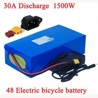 Batteria bici elettrica 48V 32ah 1500W 48V 21ah 24ah 21ah 18ah 15ah 18650 batterie al litio per motore ebike 48v750W 1000W 1500W