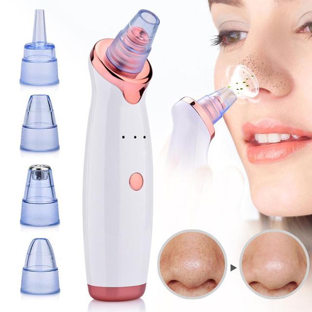 Electric Blackhead Remover Vacuum Acne Machine Face Clean Removal point noir Facial removedor de cravo Facial Pores Skin Care