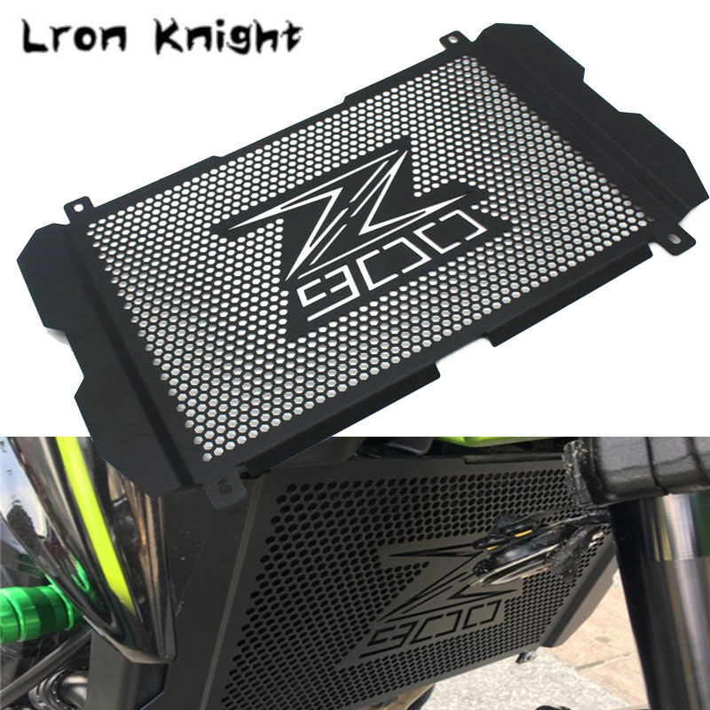 For <font><b>KAWASAKI</b></font> Z900 <font><b>Z</b></font> <font><b>900</b></font> 2017 2018 <font><b>2019</b></font> Motorcycle Accessories Radiator Grille Cover Guard Stainless Steel Protection Protetor image