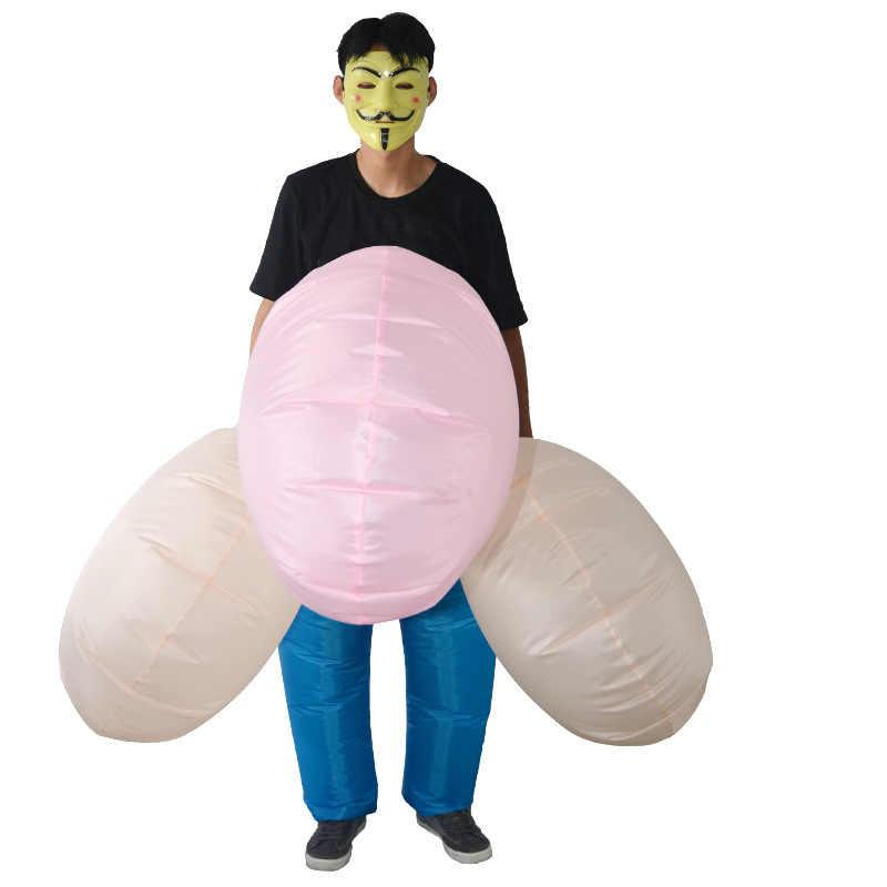 Надувные игрушки для пениса, сексуальный маскарадный костюм для взрослых, костюм для Хэллоуина, свадьбы, клуба, Маскарадного костюма