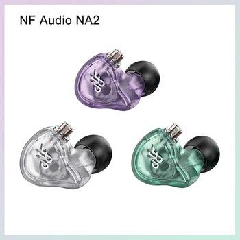 NFAUDIO NA2 auriculares desmontables equilibrados reducción de ruido dinámico en auriculares con Cable MMCX 0,78mm 2 pines para teléfonos