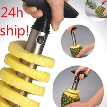 1Pc Stainless Steel Easy to use Pineapple Peeler Accessories Pineapple Slicers Fruit  Cutter Corer Slicer Kitchen Tools